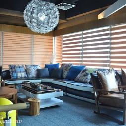 办公空间休闲区装修设计效果图