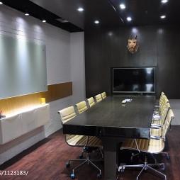 办公空间会议室装修设计效果图