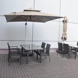 办公空间阳台装修设计