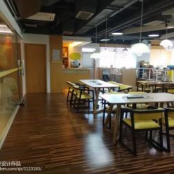 办公空间餐厅过道装修设计