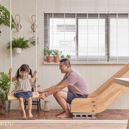 小户型混搭客厅休闲区设计