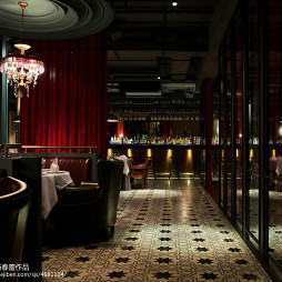 西餐酒吧过道装修设计