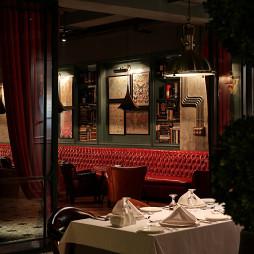 西餐酒吧背景墙装修设计