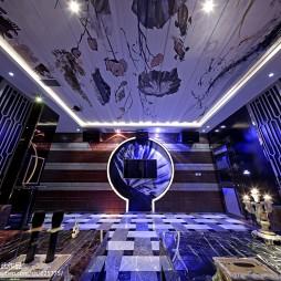 酒吧电视墙效果图装修