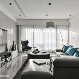 现代客厅电视墙装修效果图推荐