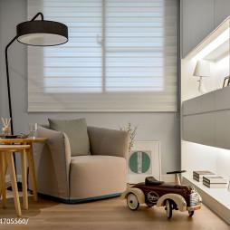 现代休闲区窗户装修设计效果图