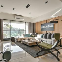 现代客厅装修设计效果图推荐