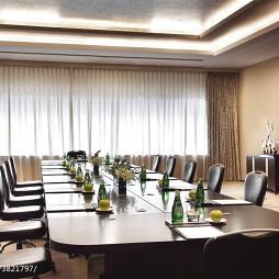 精品酒店会议室窗帘设计效果图