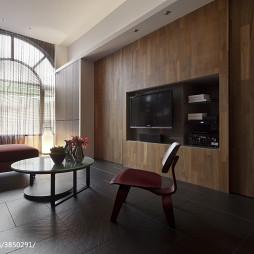現代客廳電視墻設計效果圖集