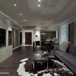 现代客厅电视墙装修图欣赏