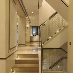 混搭风格楼梯设计样板房图片