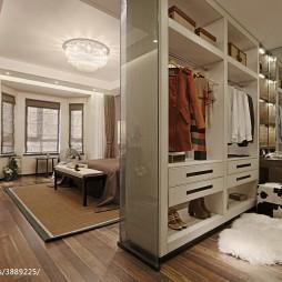 中式卧室衣帽间设计