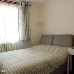 现代卧室窗帘设计效果图大全