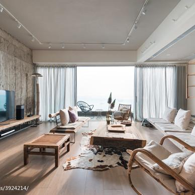 现代客厅落地窗效果图欣赏
