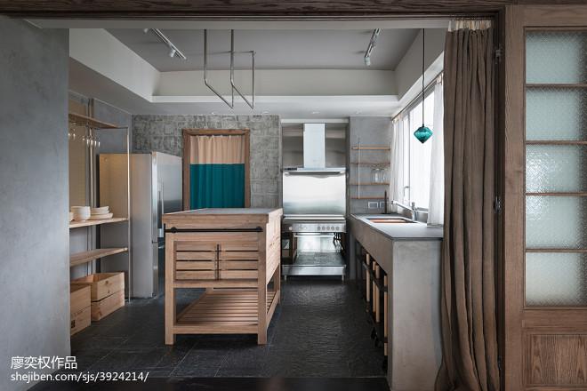 现代厨房家装效果图欣赏