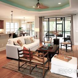 木地板简装客厅效果图欣赏