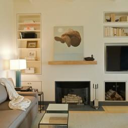 木地板简装客厅效果图设计