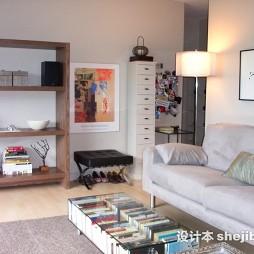 木地板简装客厅效果图装修