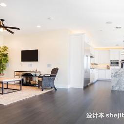 木地板简装客厅效果图汇总