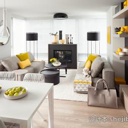 超小客厅简装效果图片