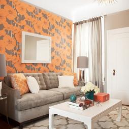 超小客厅简装效果图图片