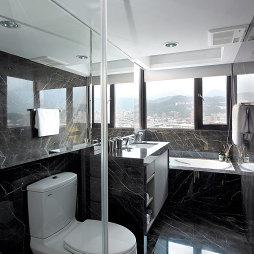 现代卫浴窗户装修效果图