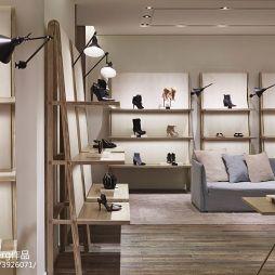 鞋子专卖店展示柜效果图汇总