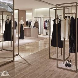 服装专卖店设计效果图大全欣赏