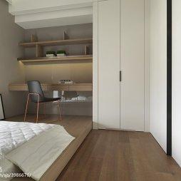 现代卧室榻榻米设计效果图大全