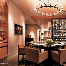 大饭店餐厅酒柜装修设计