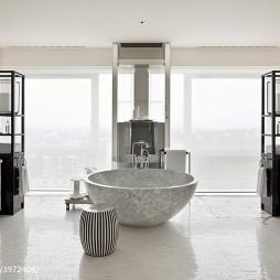 高级酒店客房浴室设计