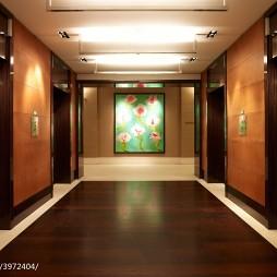 高级酒店电梯间设计
