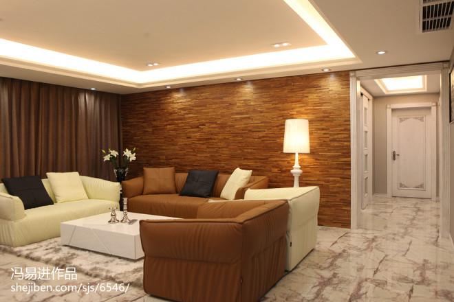 现代风格客厅地坪装修效果图
