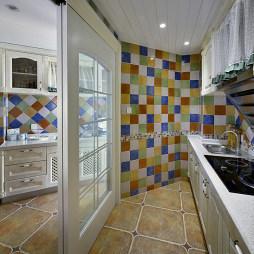 地中海风格厨房隔断设计