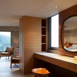 三居现代卧室化妆间装修图片