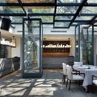 田园餐厅花园装修设计
