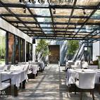 田园餐厅花园棚顶设计