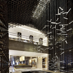 高级售楼处吊顶设计