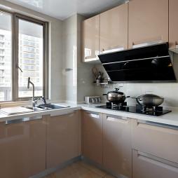 混搭风格厨房窗户装修图片