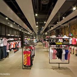 品牌服装专卖店吊顶设计