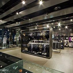 品牌服装专卖店展柜设计