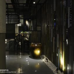 餐馆背景墙设计