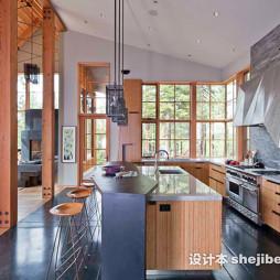 实木整体橱柜家居装修设计