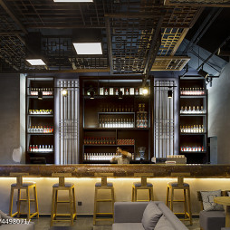 小型酒吧吧台设计