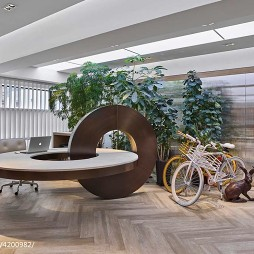 奧必概念香港办公室办公桌图片