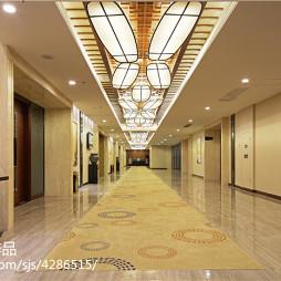 国际大酒店过道设计