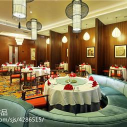 国际大酒店中餐厅设计