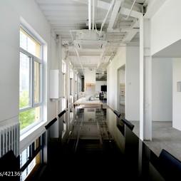 办公室走廊效果图