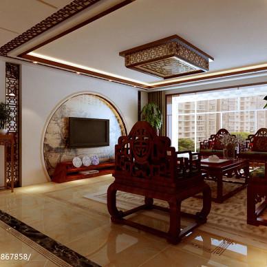 中式大户型样板房300例