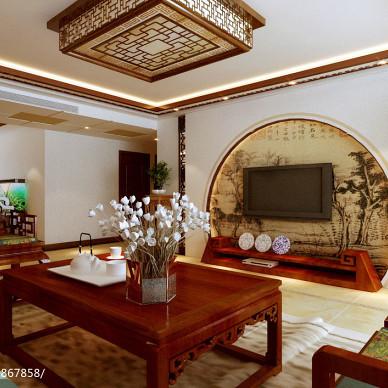 中式大户型样板房300例大全
